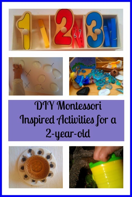Diy Montessori Inspired Activities For A 2 Year Old Montessori Nature