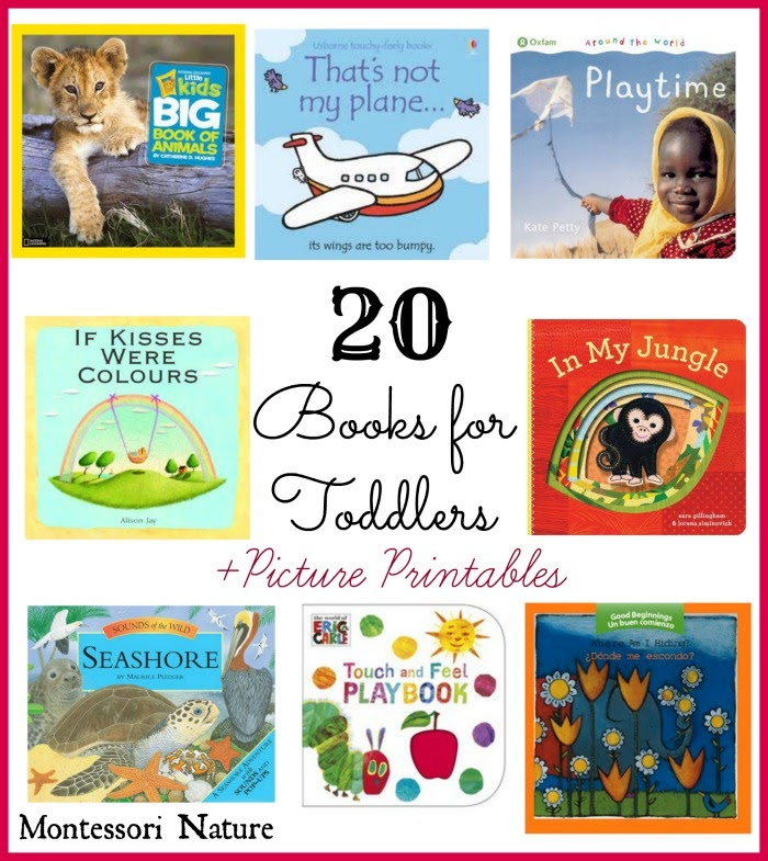 20 Books for Toddlers and Toddler Picture Printables ...