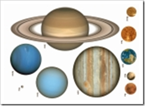 photograph about Printable Solar System titled Absolutely free Science Printables. - Montessori Character