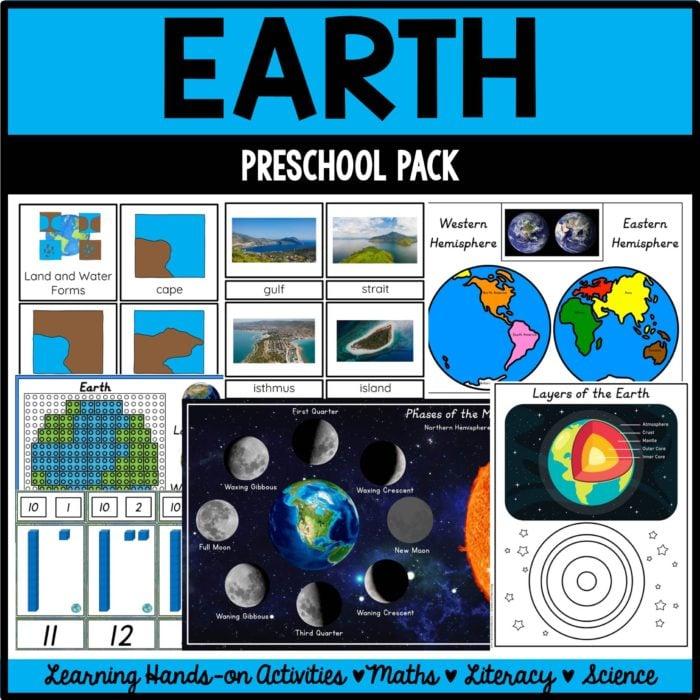 Buy the earth preschool pack