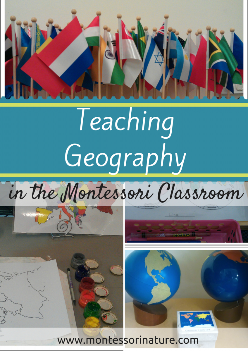 Teaching Ideas In The Classroom ~ Teaching geography in the montessori classroom