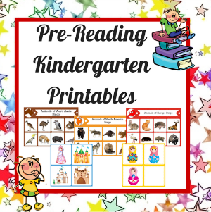 pre reading activities rhyming color sheets for kindergarten reading ...