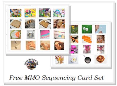 photo regarding Sequence Cards Printable named Totally free Pre-Studying Printables. - Montessori Mother nature