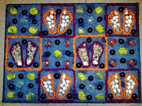 DIY Sensory Rugs for Kids | Montessori