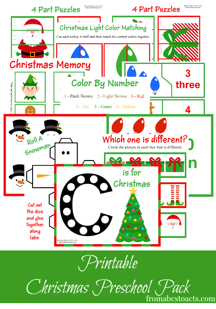 free christmas printables learning resources for preschool kids montessori nature. Black Bedroom Furniture Sets. Home Design Ideas