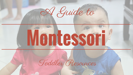 A Guide to Montessori Toddler Resources