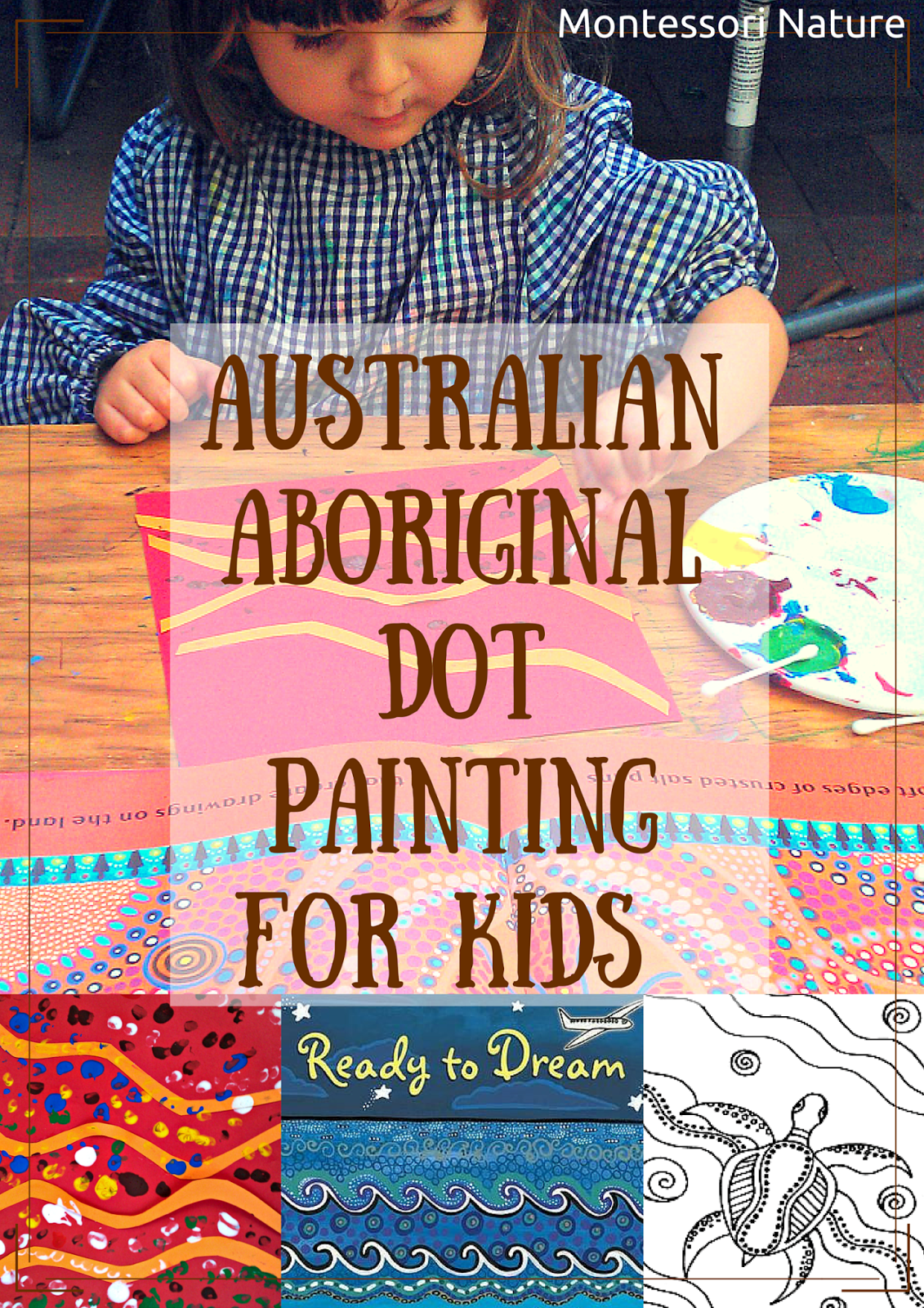 Australian Aboriginal Dot Painting For Kids And Art Resources