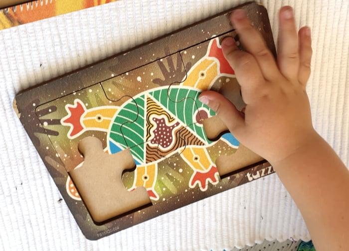 Aboriginal puzzle