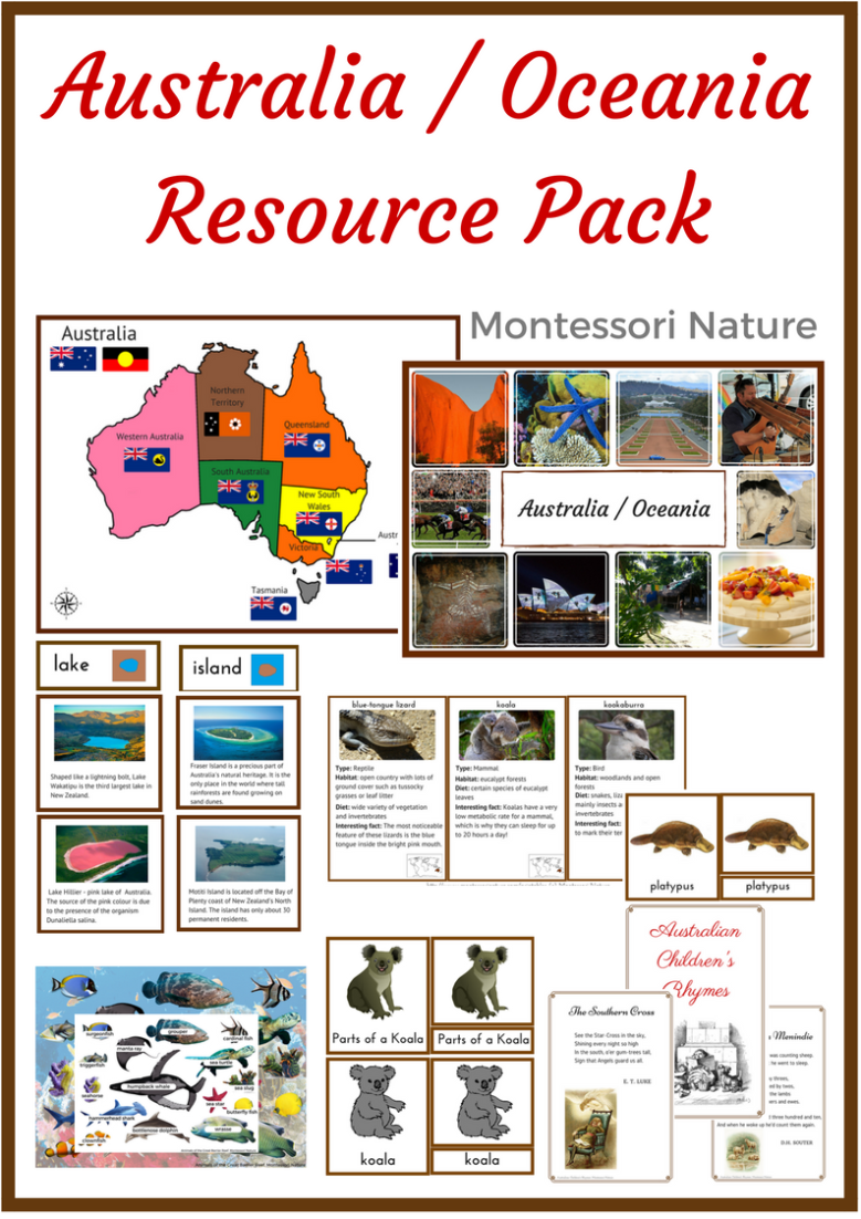 Australia Oceania Resource Pack