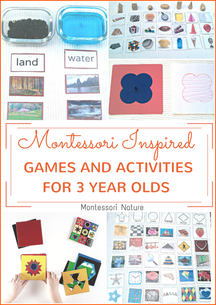 Montessori Inspired Activities and Games For 3-year-olds ...