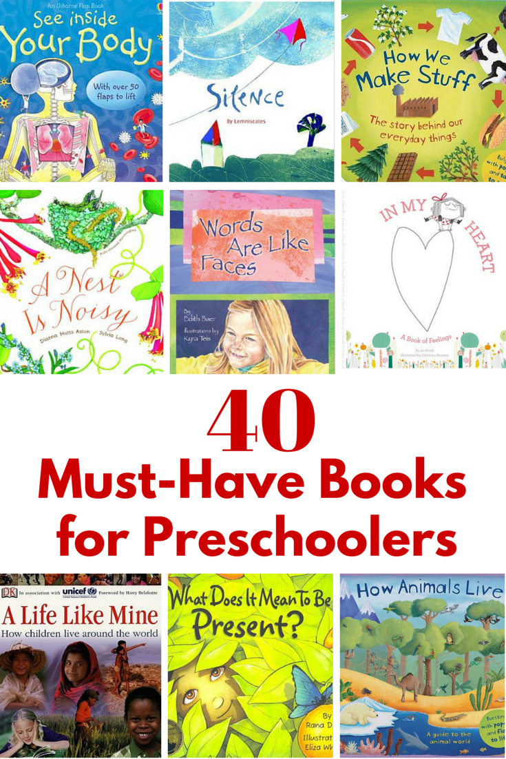 40 Must See September Magazine Covers From 18 Different: 40 Must-Have Books For Preschoolers