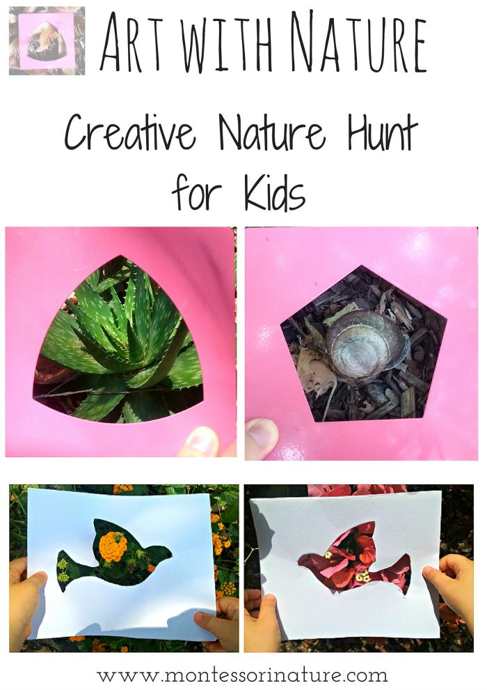 nature creative hunt magazine montessori montessorinature