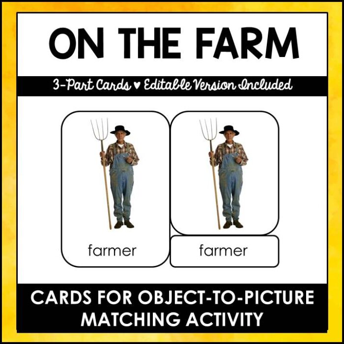buy on the farm printables