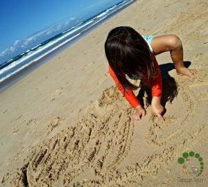 Montessori Inspired Explorations At The Beach
