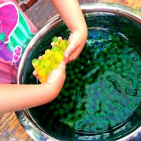Colour Experiment With Water Beads