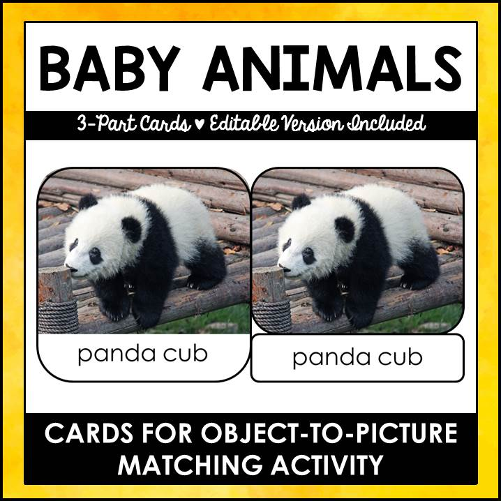 buy baby animals printables
