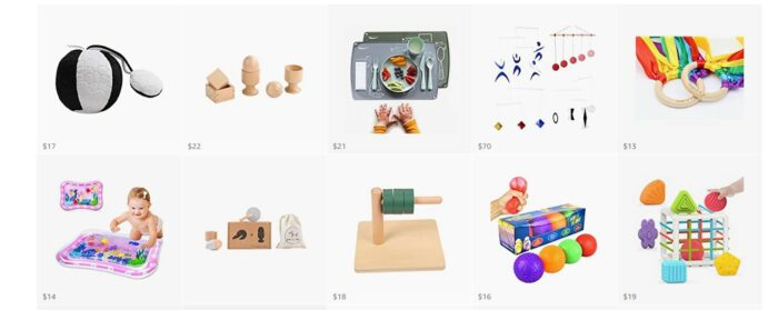 Baby Montessori Resources
