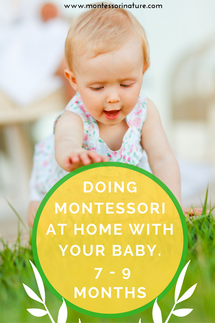 Doing Montessori At Home With Your Baby 7 9 Months
