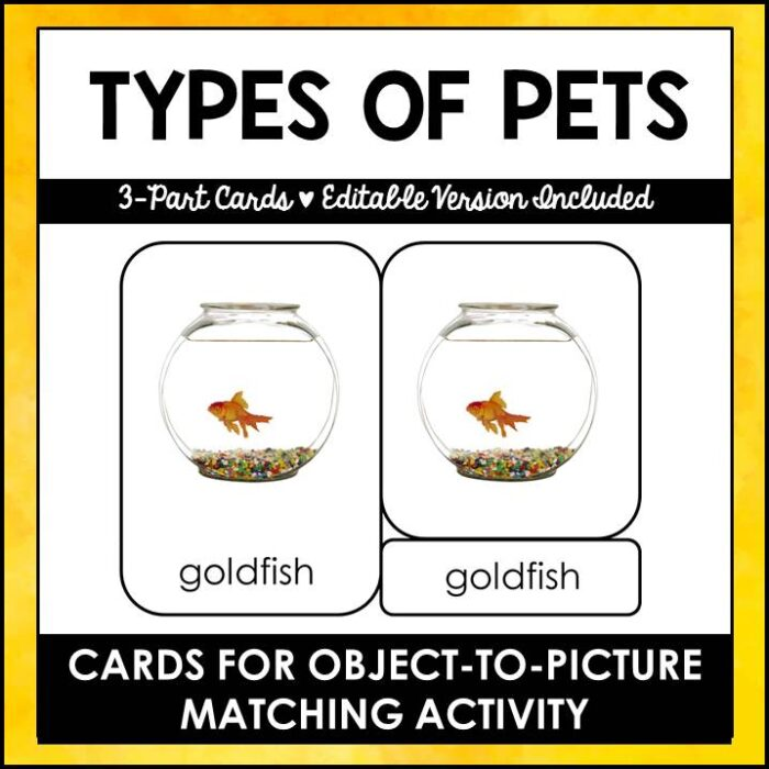buyt types of pets printables