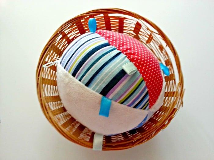 soft baby ball