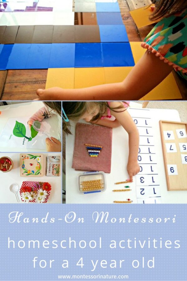 Hands - On Montessori Homeschool Activities For A 4 Year Old
