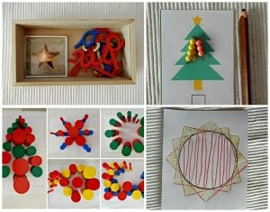 Montessori Inspired Christmas Activities With Printables