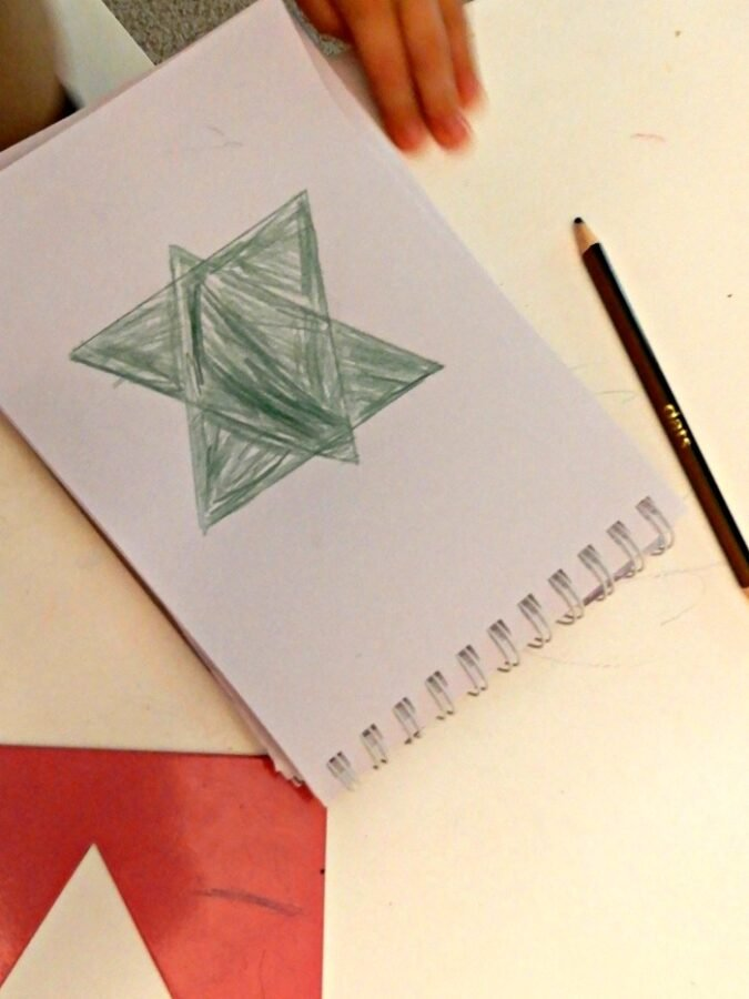 star-of-david-montessori-nature-blog