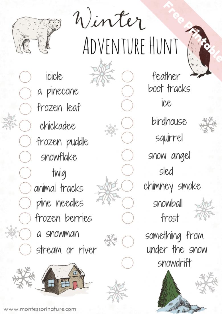 Outdoor Scavenger Hunt Ideas For Toddler