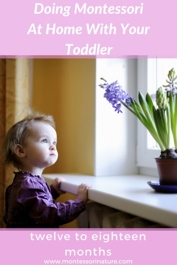 Doing Montessori At Home With Your Toddler
