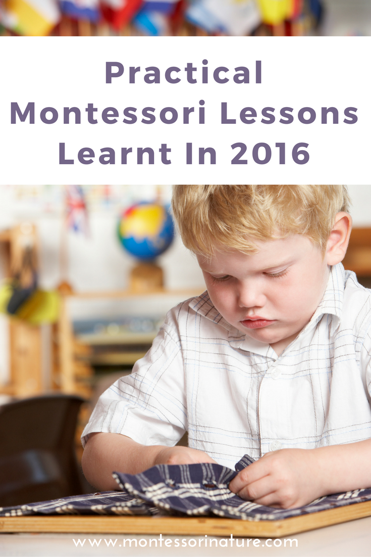 describe the basic characteristics of an ideal lesson for montessori Toddler programs in montessori schools generally start at 15-18 months and run to age 2½ or 3 you can use many of the same montessori principles and ideas to create a montessori-friendly toddler environment at home.