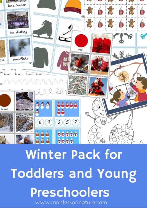 Buy Winter Pack for preschool children