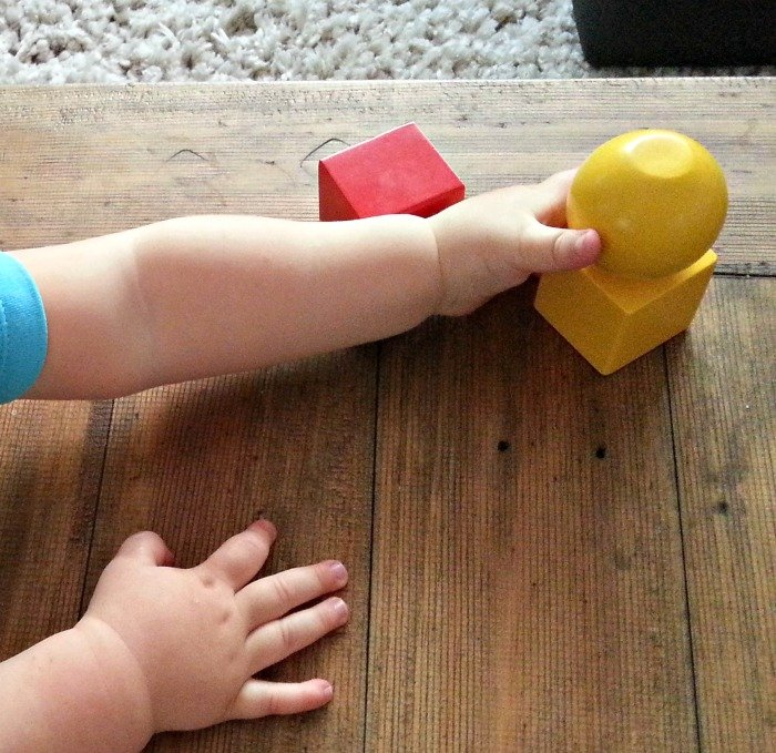 early toddler years magnetic blocks