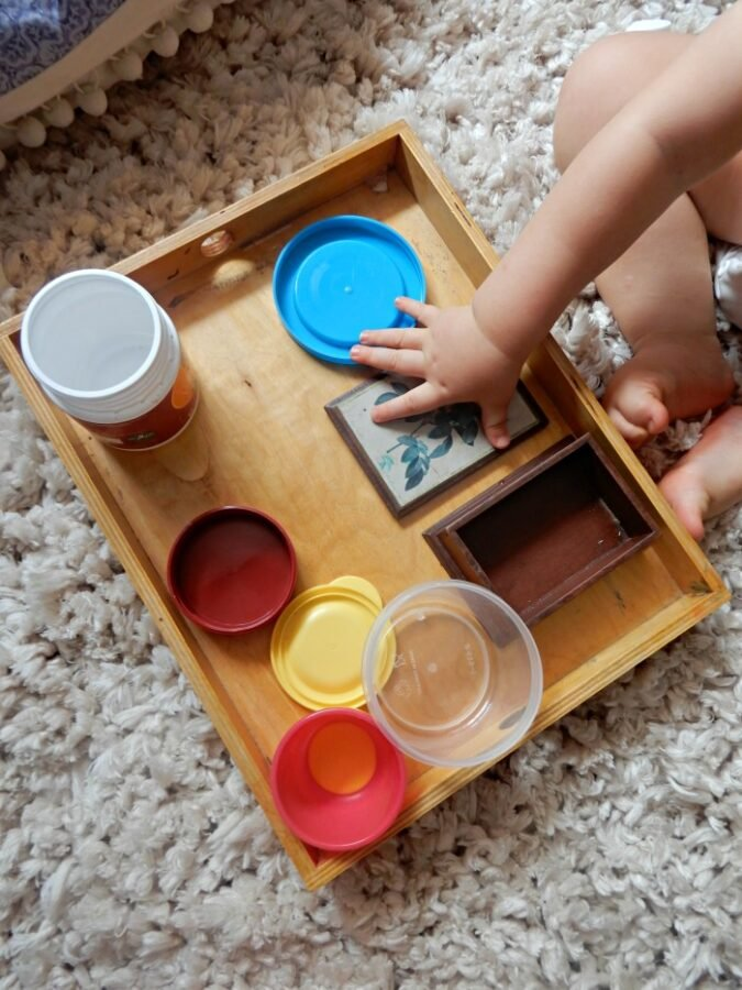 open and close containers Montessori Nature Early Toddler Years