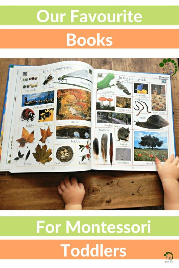 Books for Montessori Toddlers