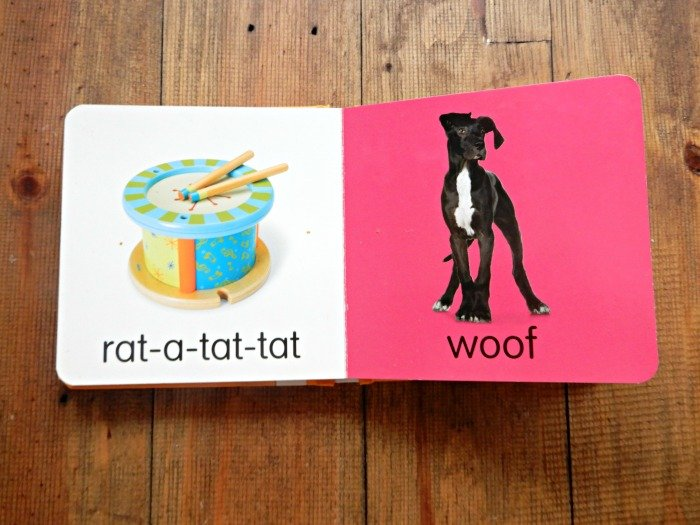 Toddler Book with sounds Montessori classroom