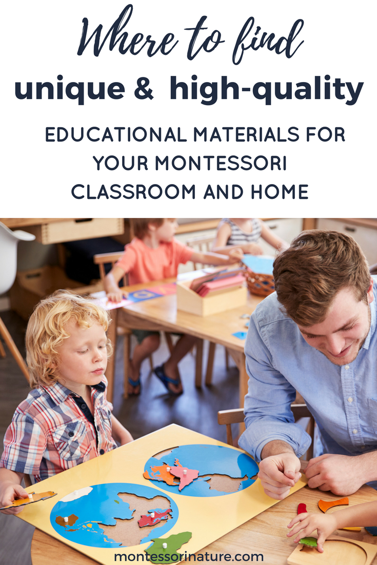 Where To Find Amazing and Unique Montessori Materials Montessori Nature