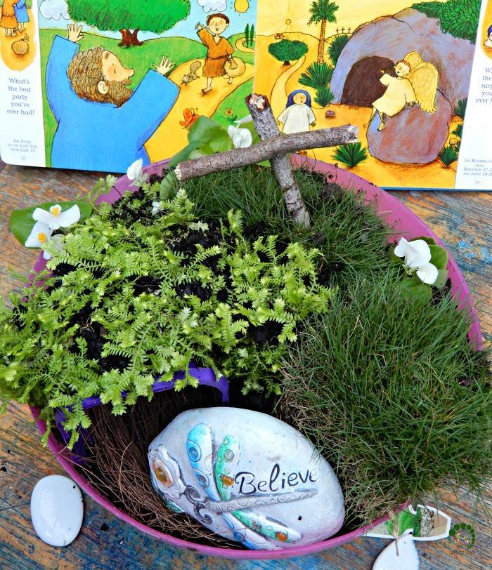 Easter Resurrection Garden