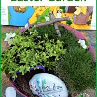 How to Make an Easter Garden – Natural Small World for Play