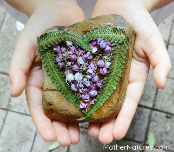 Crafting with Natural Materials Kids