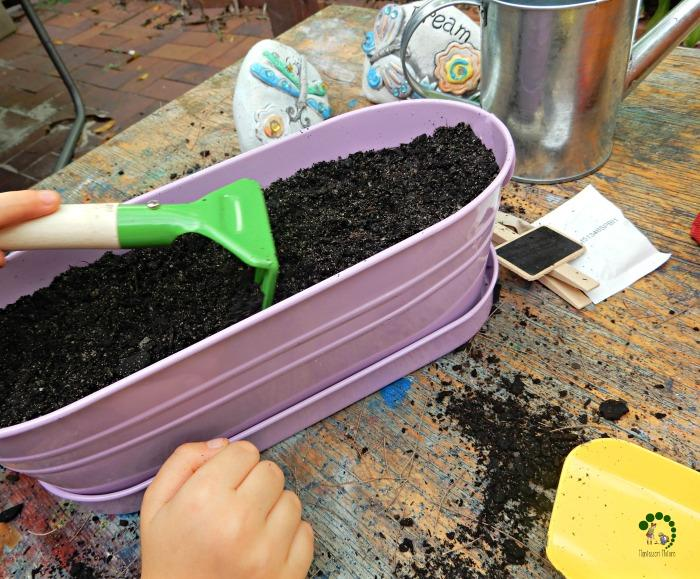 gardening with kids Montessori Nature