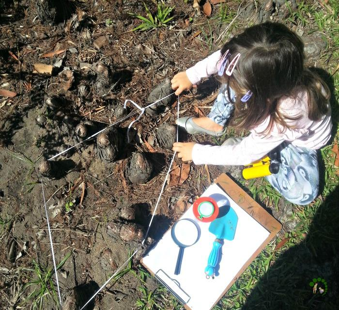 outdoor discovery Montessori Nature
