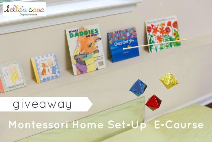 Giveaway Montessori Home Set-Up E-Course
