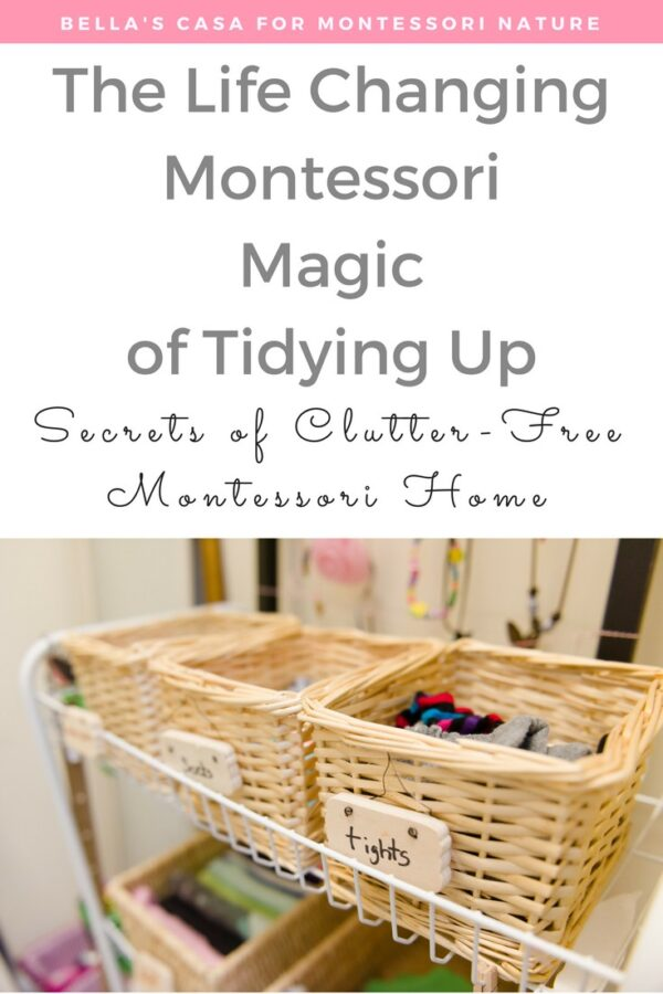 The Life Changing Montessori Magic of Tidying Up- The Children's Version!