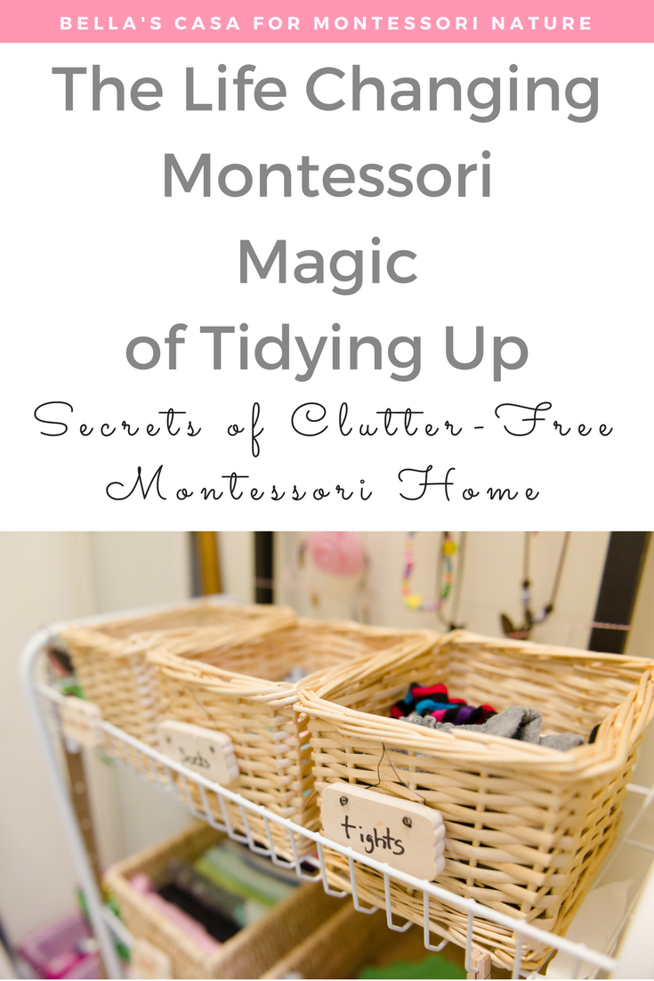 Secrets of Clutter-free Montessori Home