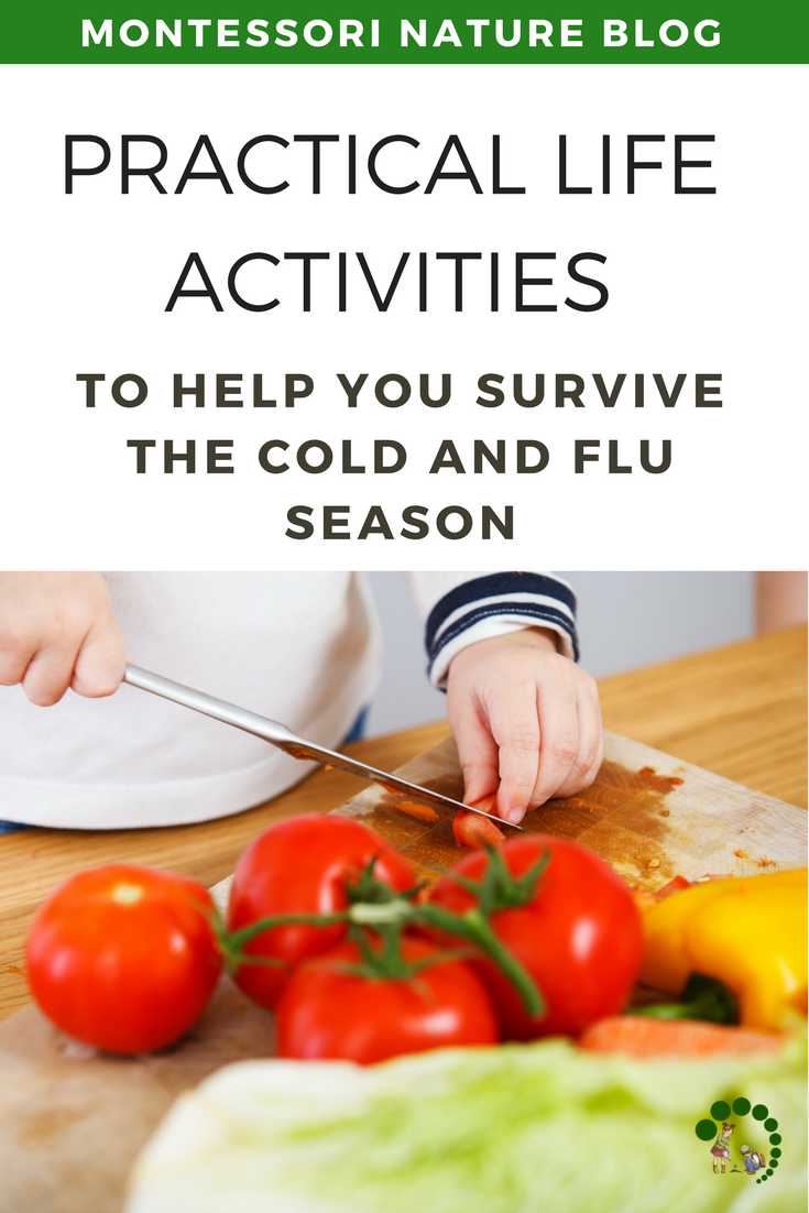 Practical Life Activities for The Cold and Flue Season