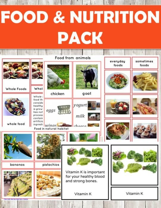 buy food nutrition cards