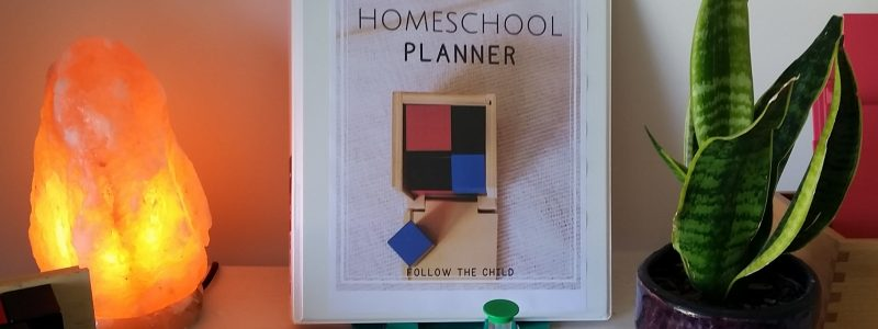 Editable Homeschool Planner