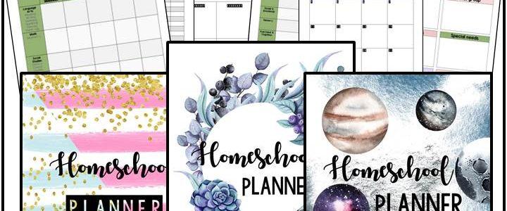 Editable Homeschool Planner