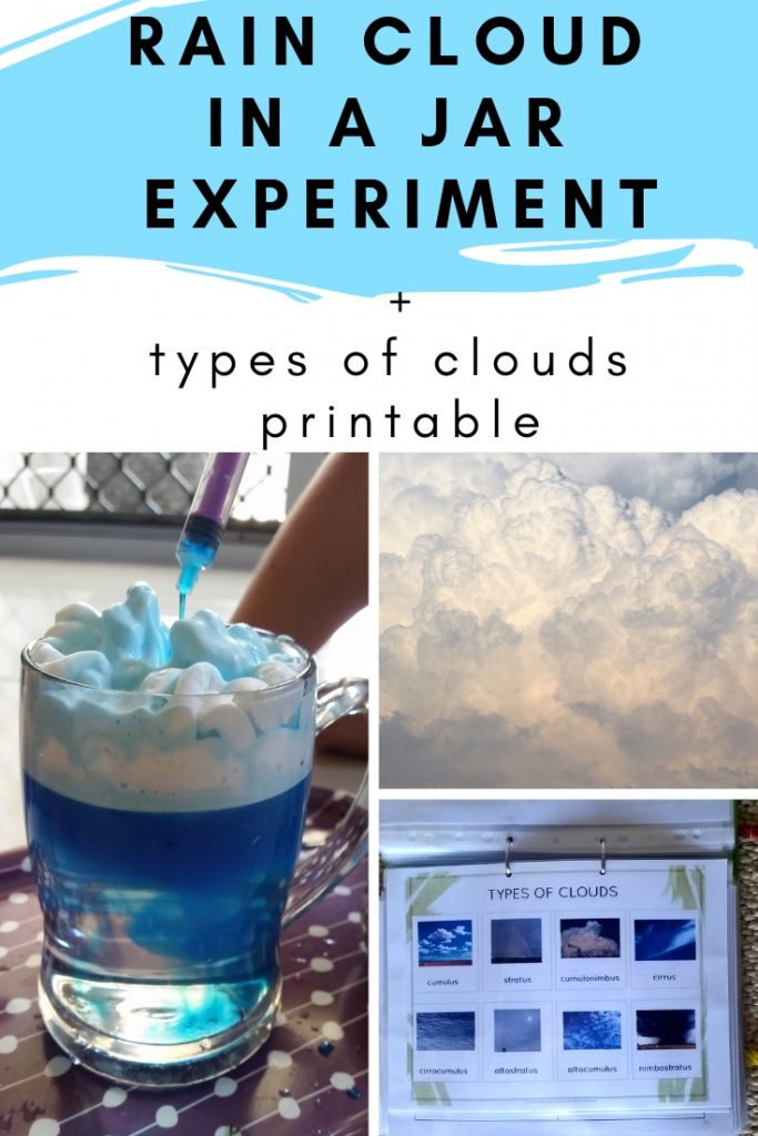 Rian cloud experiment for children