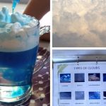 Rain Could In a Jar Science Experiment Plus Types of Clouds Printable